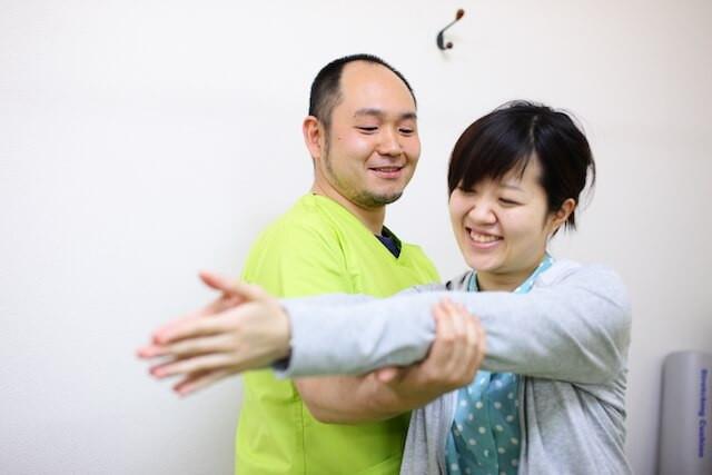 6.施術後の体の変化をチェック