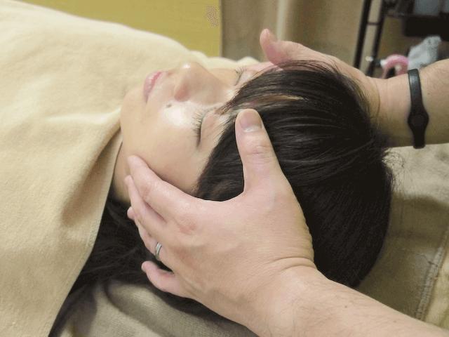 顎関節の調整
